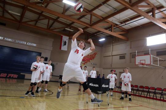 Palm Valley School fields valley's first boys volleyball team