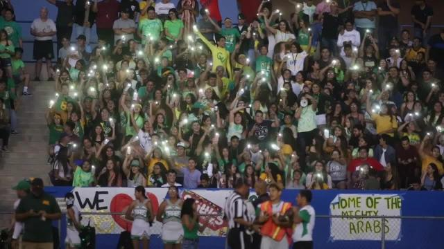 Bell Game fans light up Indio