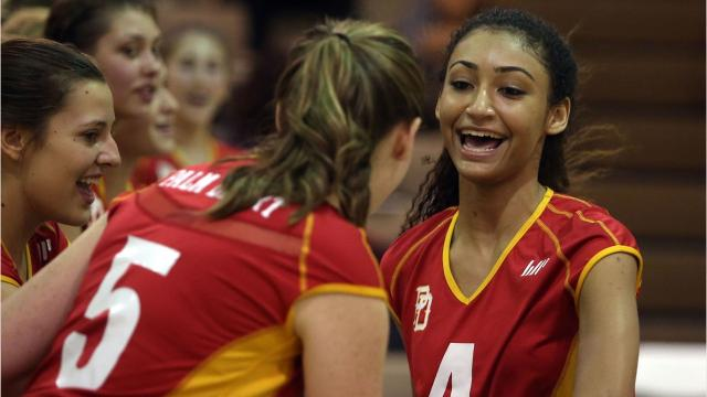 Volleyball scene full of drama as Aztecs, Saints, Knights top list of desert  teams