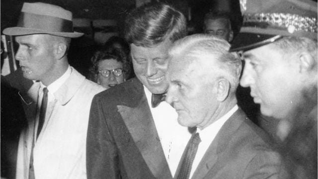 Jfks Palm Springs Area Ties Included Mob Entanglements Affairs And
