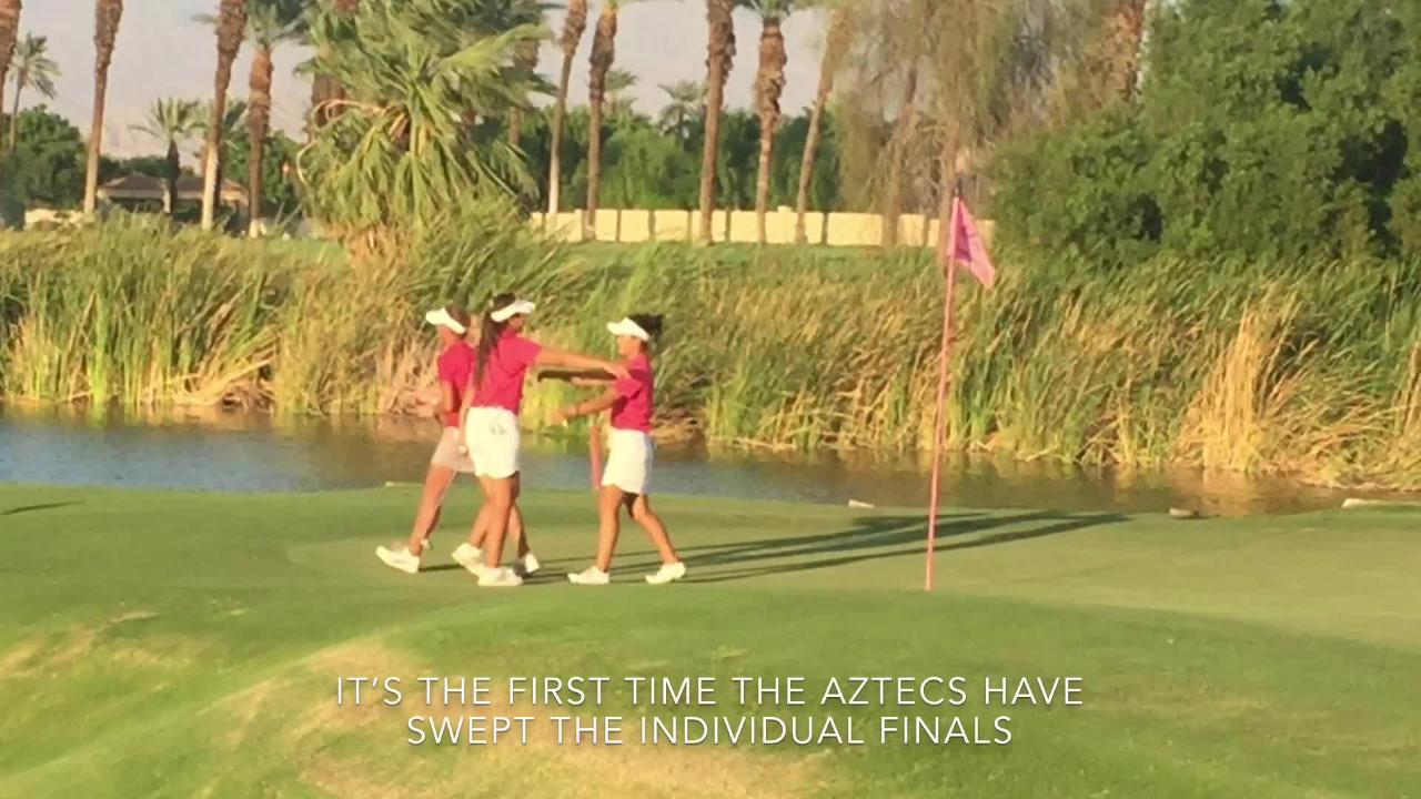 Palm Desert Aztecs dominate DVL girls golf finals