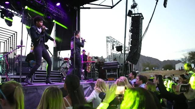 Fitz and The Tantrums perform at PGA'S CareerBuilder Challenge event.