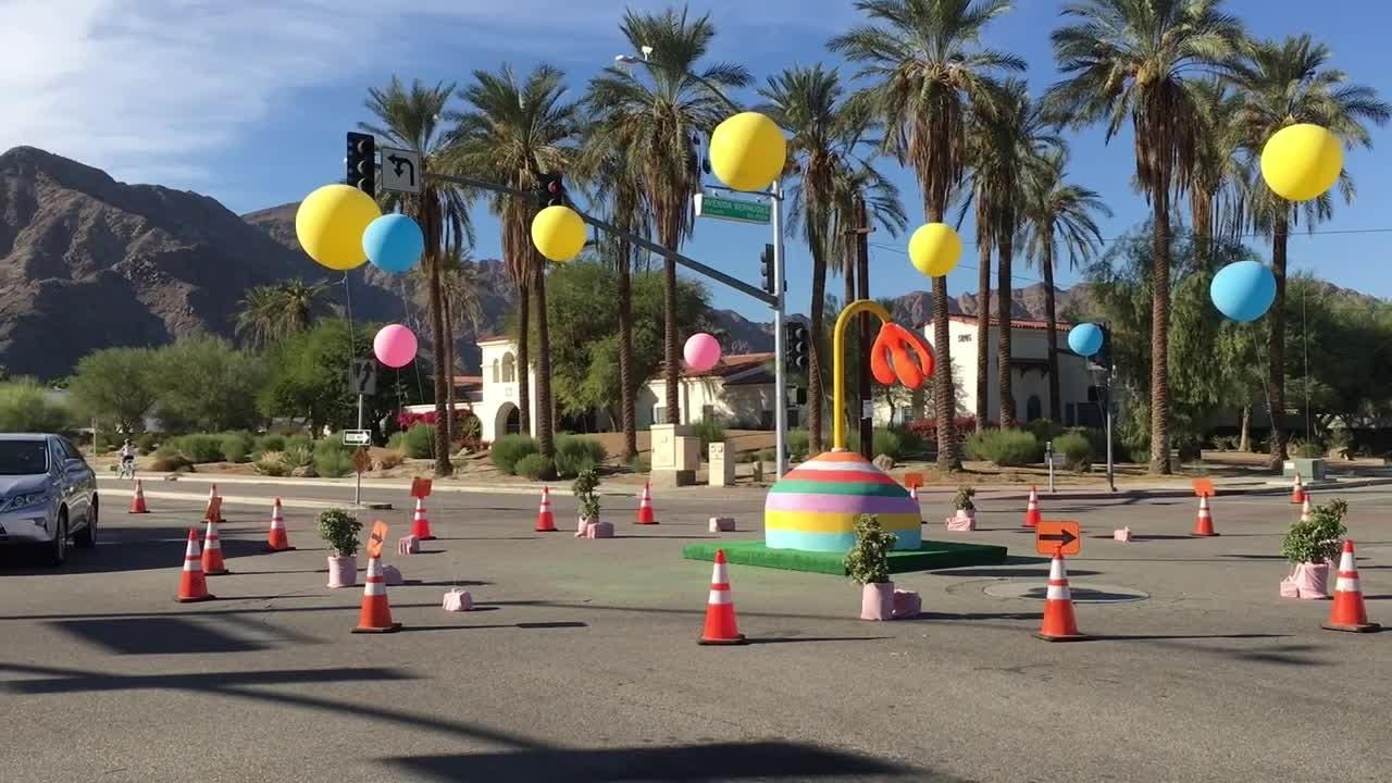 La Quinta is installing five roundabouts and you can practice on an existing one nearby