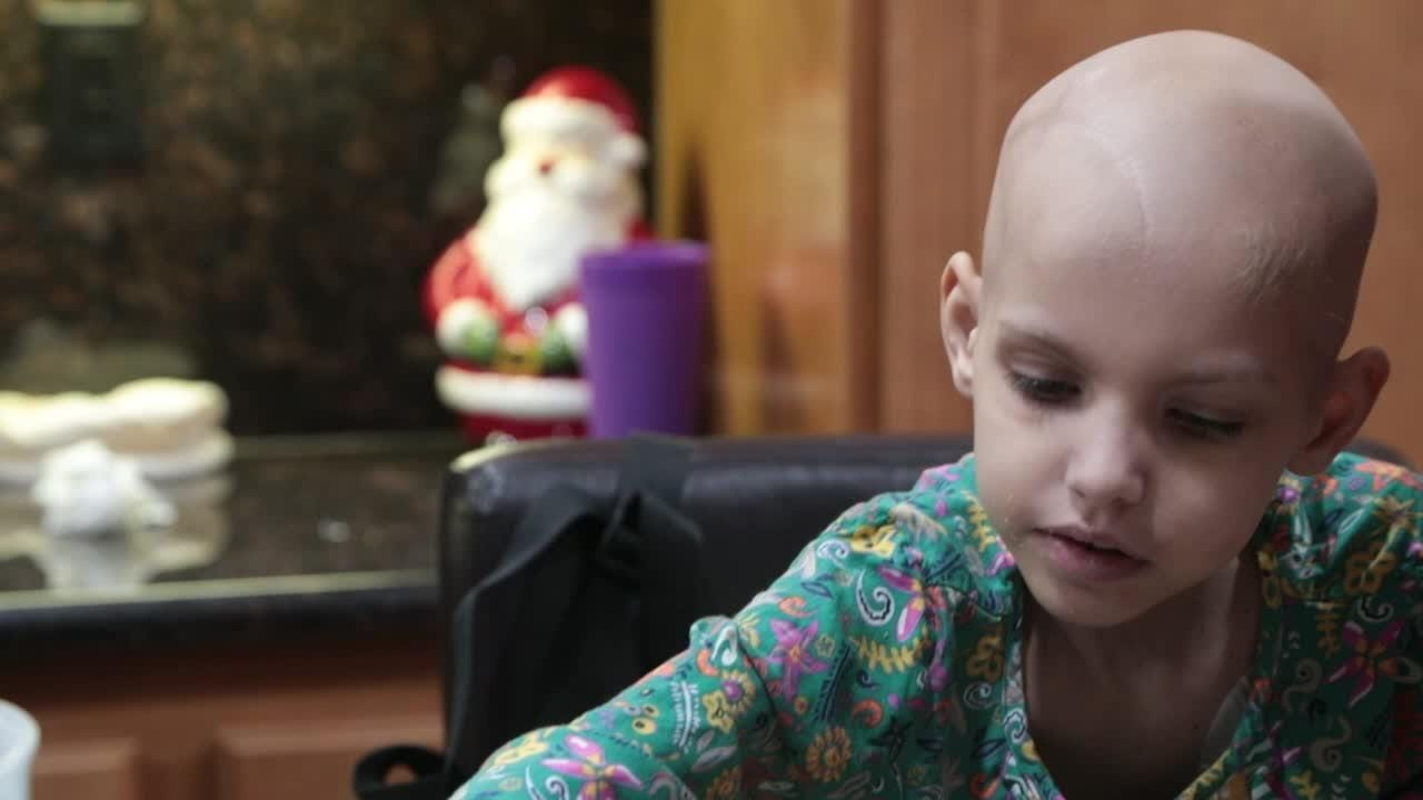 Kristin Sherman's daughter, 6-year-old Riley Rose, died April 13, 2018, after a 20-month battle with neuroblastoma. In this video interview, done in November 2017, Sherman talks of how staying hopeful was essential to their journey.