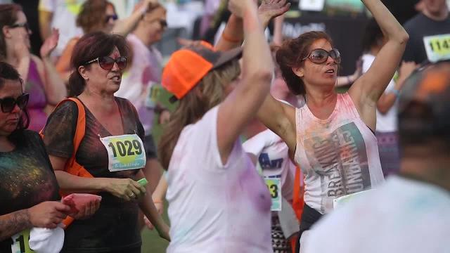 Color run kicks off LiveWell Festival