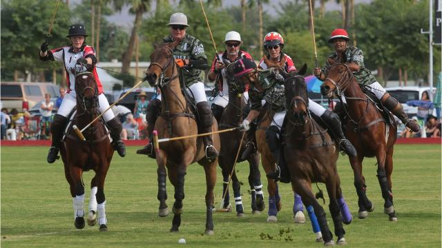 Eldorado Polo Club held its  opening day Sunday. Thousands were in attendance at the Indio facility.