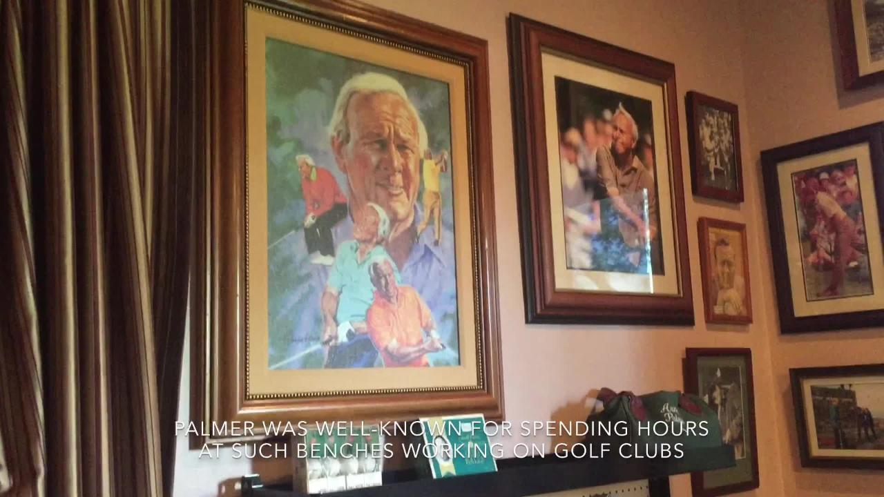 A new room at Arnold Palmer's Restaurant in La Quinta is specifically dedicated to all phases of Palmer's career and life.