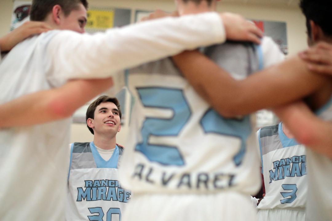 How Wes Lynch broke Rancho Mirage High School's basketball scoring record.