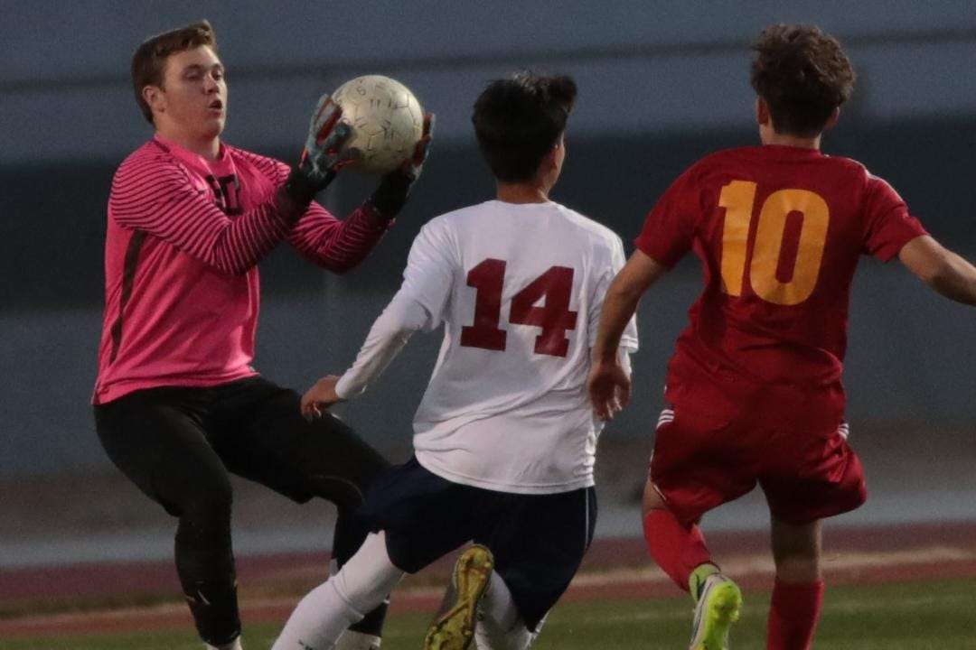 La Quinta soccer beat Palm Desert 3-0 in a home game on Tuesday.
