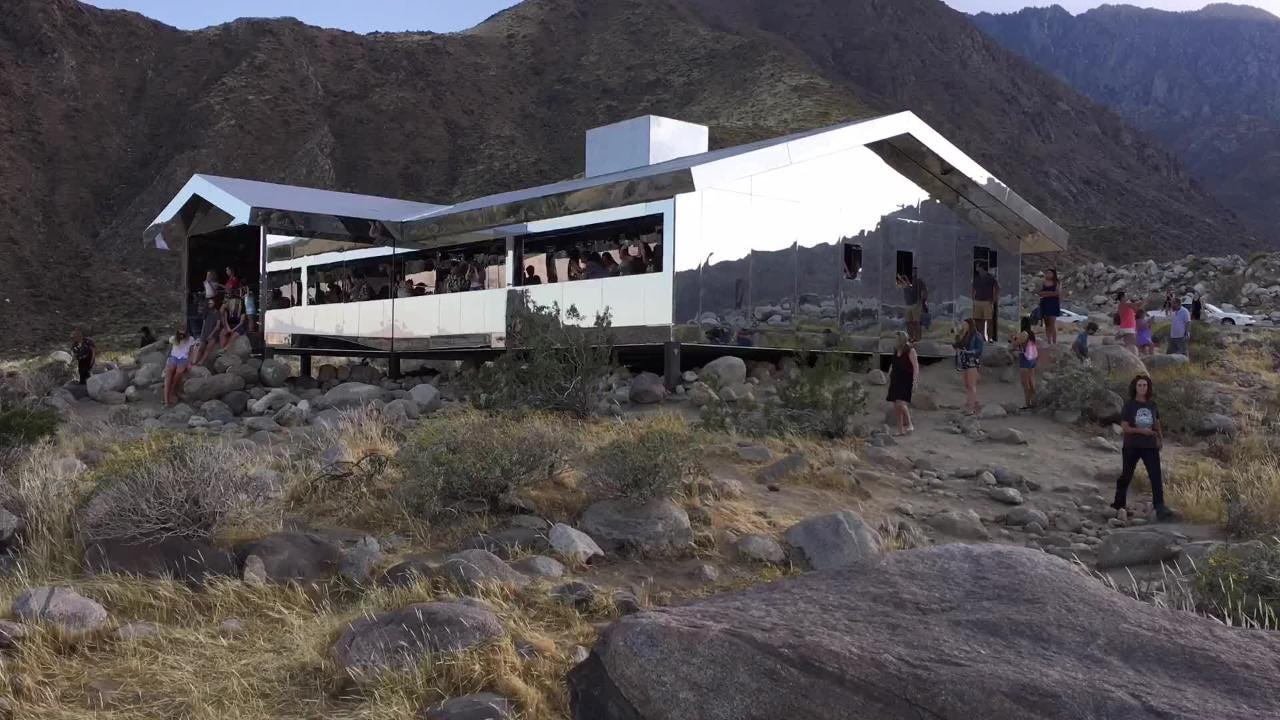 here s why desert x mirror house in palm springs will be torn down rh desertsun com mirror house palm springs adress mirror house palm springs adress
