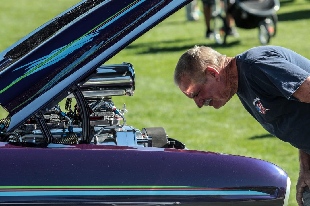 Car enthusiasts flock to La Quinta Hot Rod and Custom Car Show in February 2018.