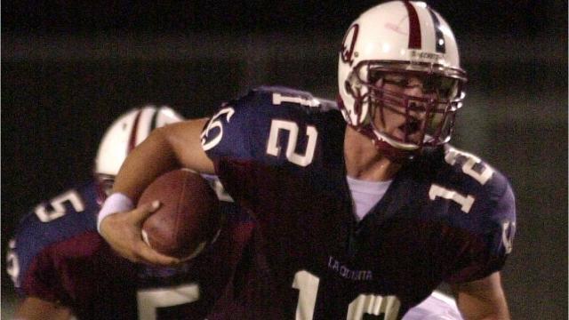 Patrick Rivenes, who played his high school football at La Quinta, has been named the Blackhawks' new head coach.