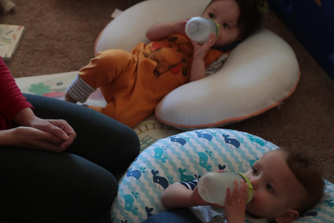 Two local women discuss why they chose to begin working from home after having children.