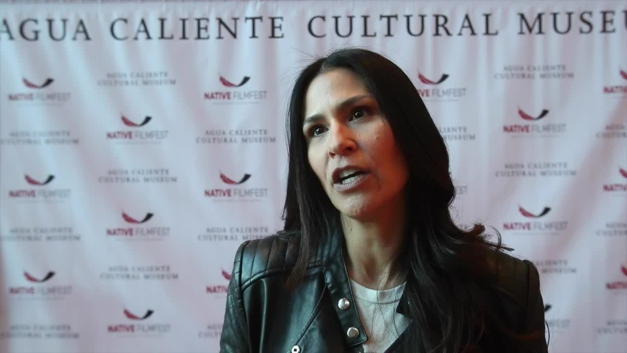 JOELY PROUDFIT speaks about the annual Native American film festival.