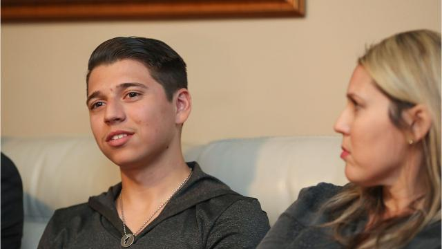 Kevin Salamone, 17, was a Shadow High School senior on his way to college. Then a concussion knocked his life off track.