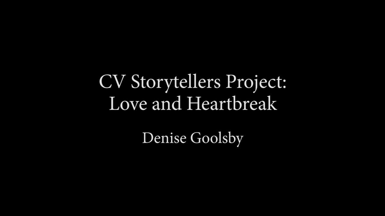 Denise Goolsby presents at CV Storytellers Project: Love and Heartbreak