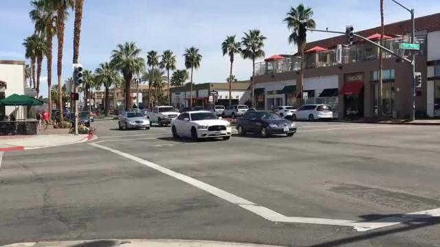 Time-lapse video shows foot traffic along some parts of El Paseo, Palm Desert's tony retail artery, is abundant, while in others it's almost non-existent. Smaller shop owners on the edge of El Paseo say the city needs to fix this discrepancy.