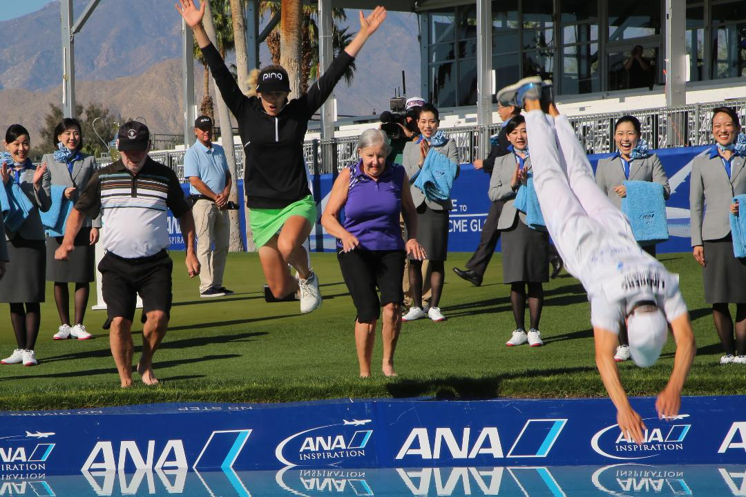 Shad Powers and Larry Bohannan recap the 2018 ANA Inspiration with a guest appearance from Amy Alcott, who started the tradition of jumping into Poppie's Pond.