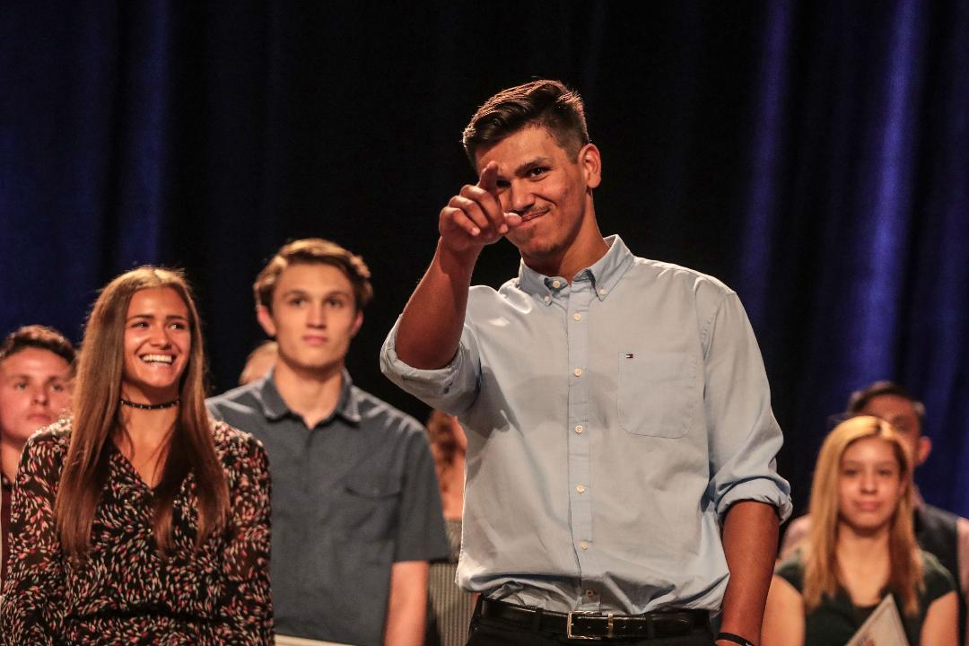 Local high school athletes honored at the Boys and Girls Club of Coachella Valley's Sports Heroes Luncheon.