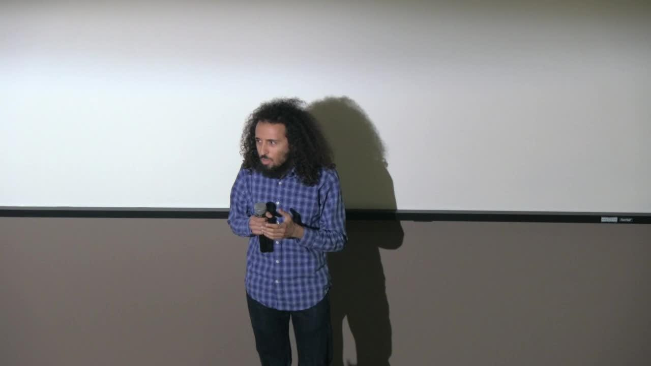 Sammy Roth participates in the Coachella Valley Storytellers Project