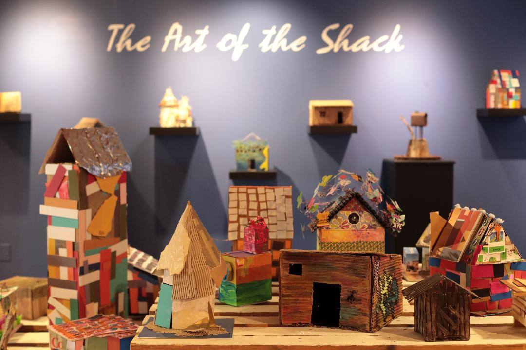 """La Quinta Museum has two shows till September 15; """"Bear in Mind"""" and """"The Art of the Shack""""."""