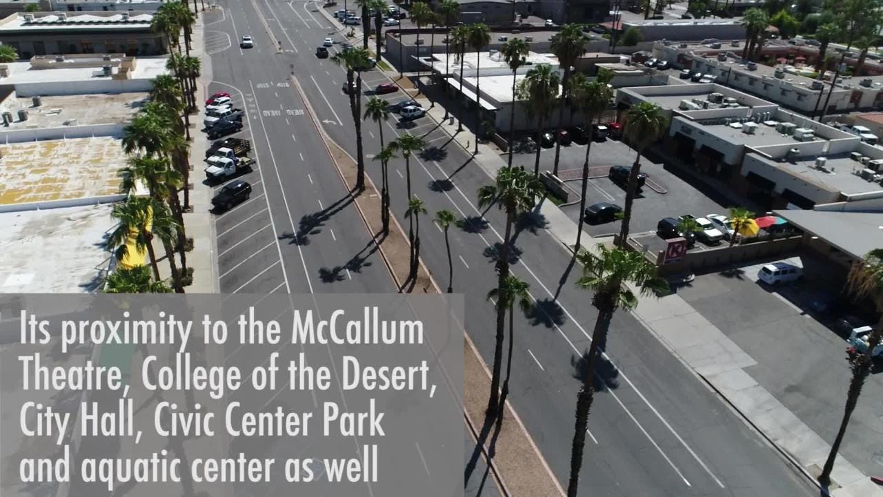 San Pablo Avenue in Palm Desert is being renovated. Here's how traffic will be affected this month