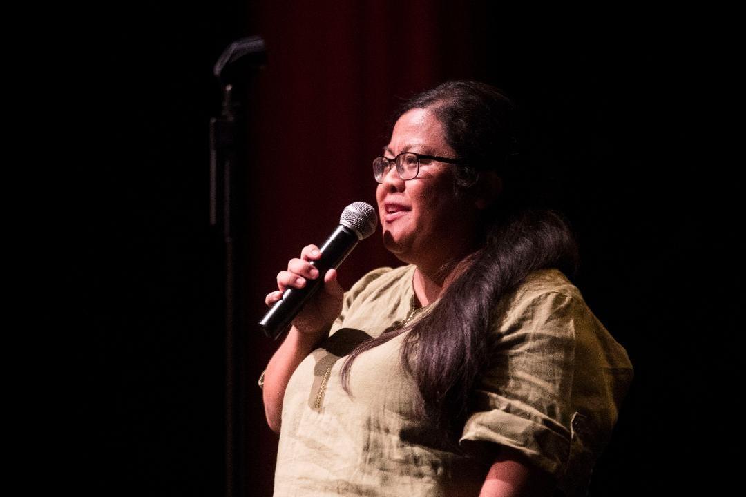 Michelle Castillo speaks for Storytellers Project