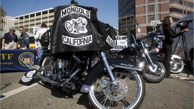 An outlaw biker gang will be holding a membership meeting at the Palm Springs Hilton this weekend. The Mongols have had a contentious relationship with the law and with their rival club, the Hell's Angels.