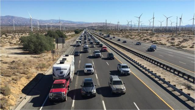 Pedestrian Killed In Interstate 10 Crash In Indio Victim Was Walking Along Freeway