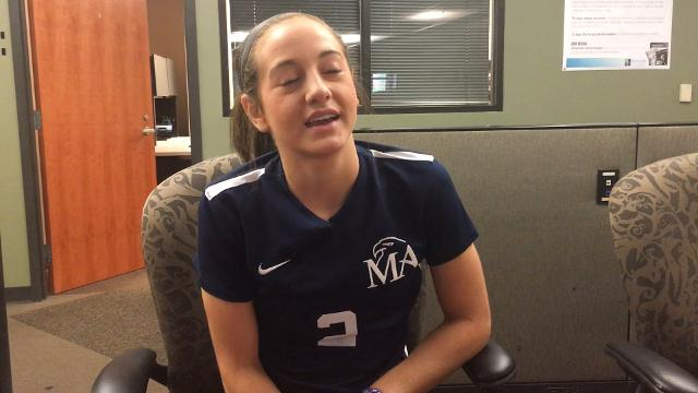 Tara Katz of Montgomery Academy is the 2017 Advertiser All-Metro girls soccer player of the year.