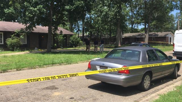 Officials discuss the shootings of two juveniles on Coral Lane.