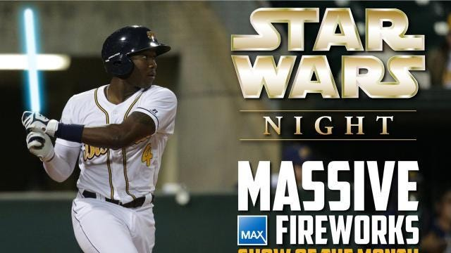 Star Wars Night with the Montgomery Biscuits