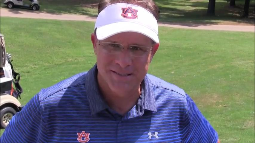 Malzahn enjoys Barbasol Pro-Am in Opelika