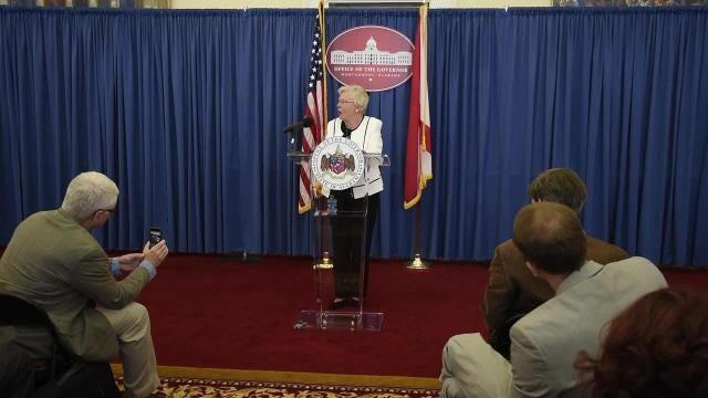 Governor Kay Ivey addresses state after 100 days in office