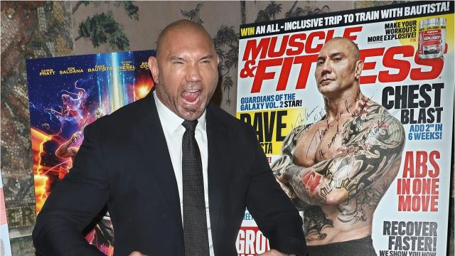 Dave Bautista Circling Eternal Warrior Comic Book Adaptation
