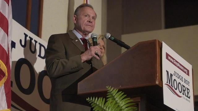 Roy Moore leads the field and makes runoff in senate primary