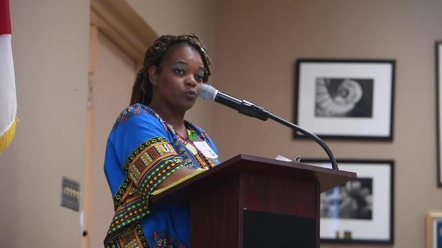 Karen Jones asks MPS to move Robert E. Lee statue
