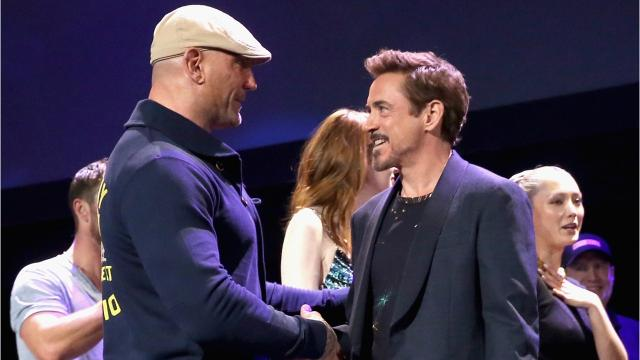 Dave Bautista On Working With Robert Downey Jr