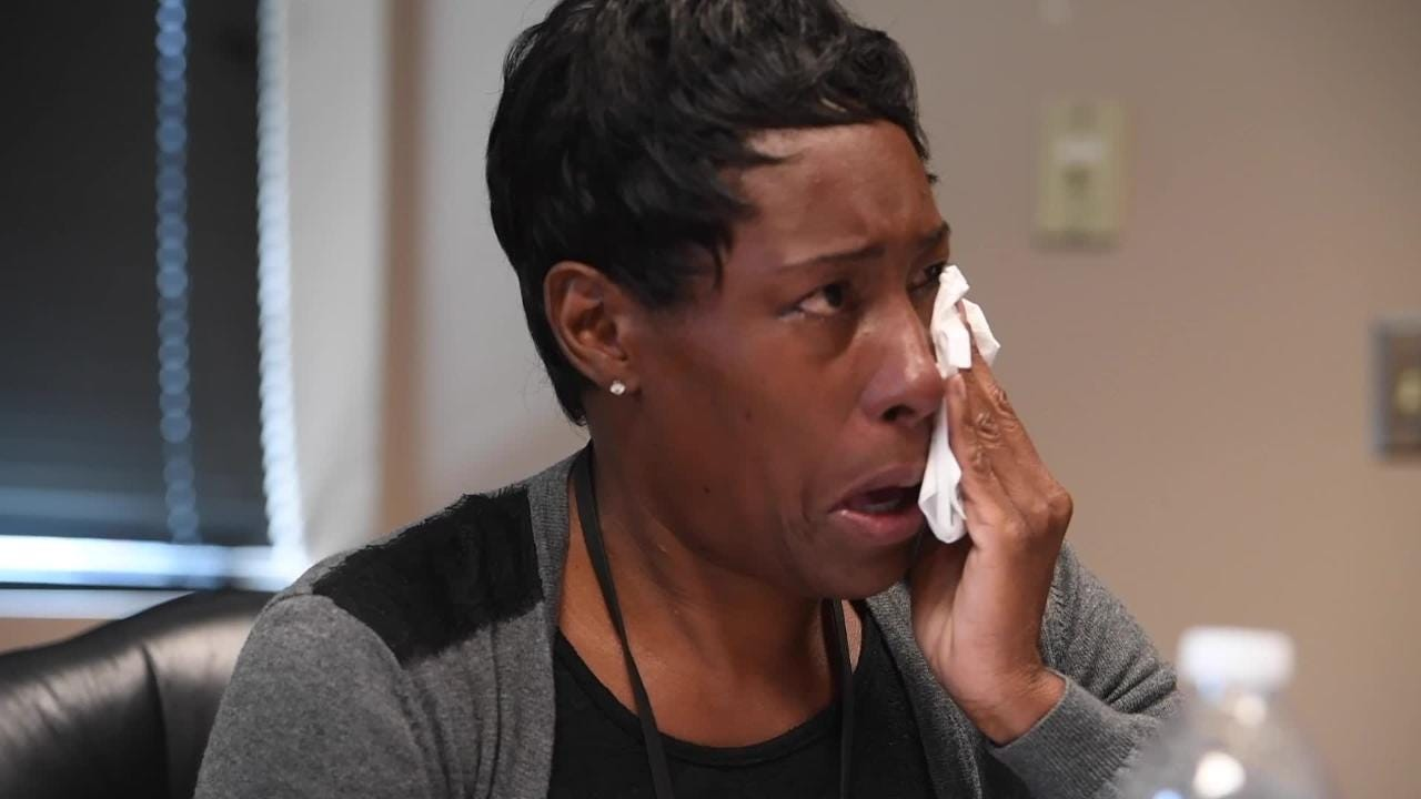 Torian Hamilton remembers her son Tim Hamilton who was killed in the December 2013 Centennial Hill Bar and Grill shooting. She is shown during a Wednesday September 13, 2017 in Montgomery, Ala.