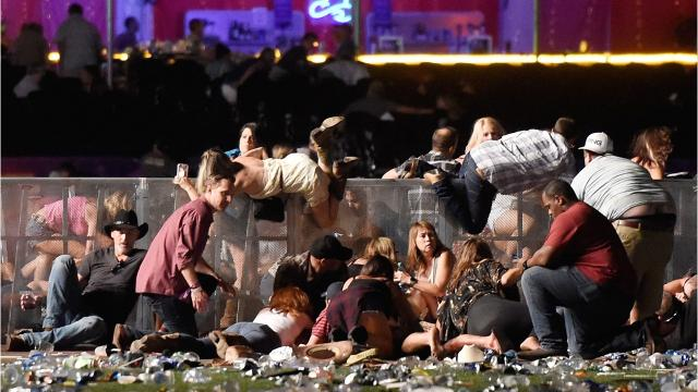 Trump Offers Condolences To Vegas Victims