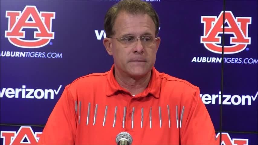 Auburn head football coach Gus Malzahn's press conference after Saturday's 27-23 loss at LSU in which the Tigers blew a 20-point halftime lead.