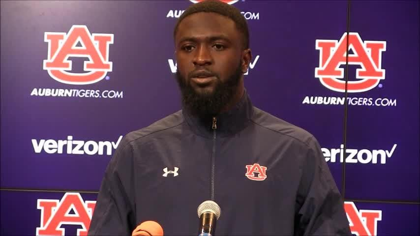 Auburn receiver Nate Craig-Myers talks about his lack of opportunities to catch passes in last week's loss at LSU