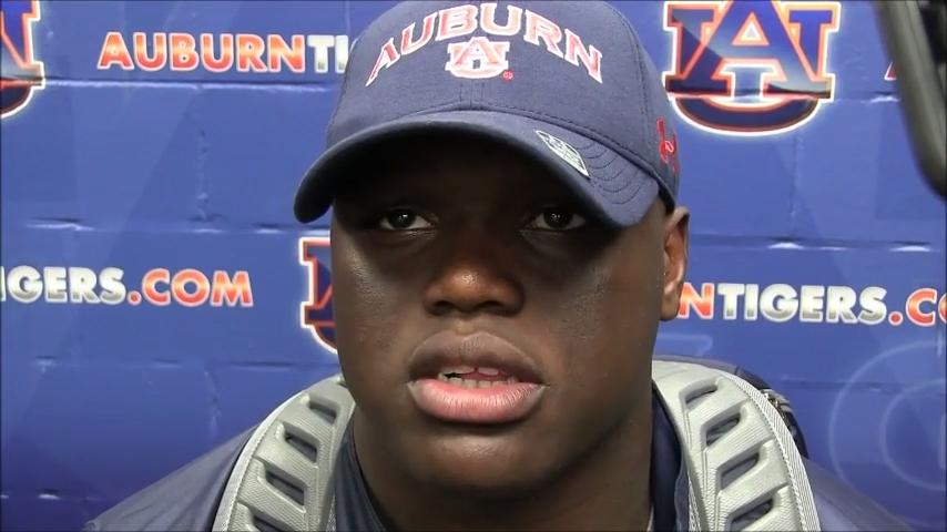Auburn defense shuts down Georgia after 1st drive