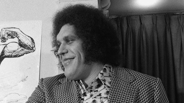 "HBO Releases First ""Andre The Giant"" Documentary Trailer"