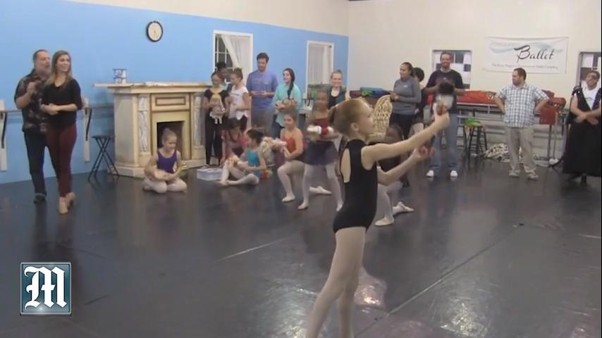 Children are a huge part of this year's production of The Nutcracker by Montgomery Ballet, which will be performed Dec. 7-10 at the Davis Theatre in downtown Montgomery.