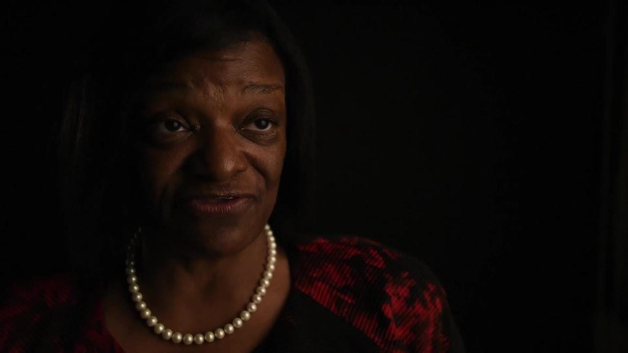 Alabama Senate candidate Deborah Anthony speaks about her platform
