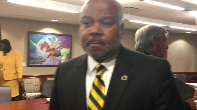 ASU President Quinton Ross talks about the school pursuing a federal program that would allow the school to take on debt to finance capital projects around campus