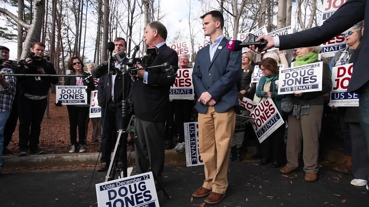 Doug Jones looks back on his campaign on election morning