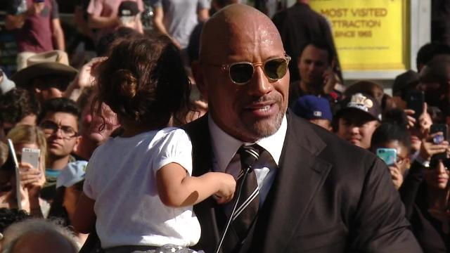 Dwayne 'The Rock' Johnson Receives Star On Walk Of Fame