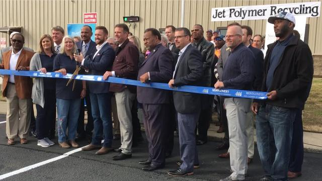 Jet Polymer Recycling started work in Montgomery earlier this year and is already planning an expansion.